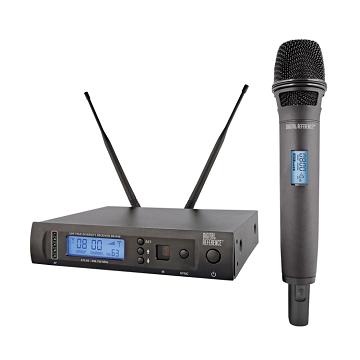 dr4600 wireless handheld vocal microphone system digital reference. Black Bedroom Furniture Sets. Home Design Ideas
